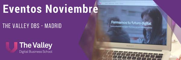 Agenda de eventos de noviembre en Madrid