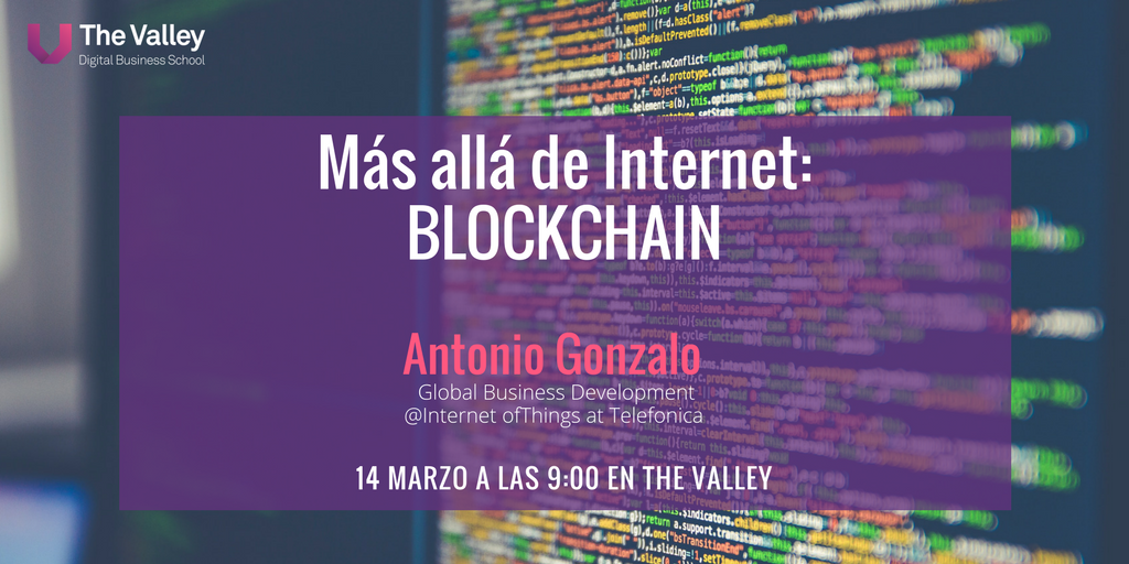 Evento Bockchain The Valley