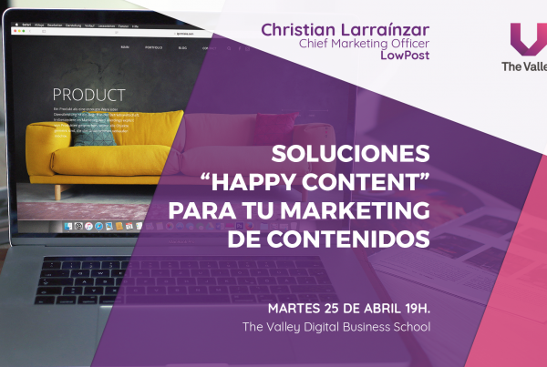 Evento Happy Content