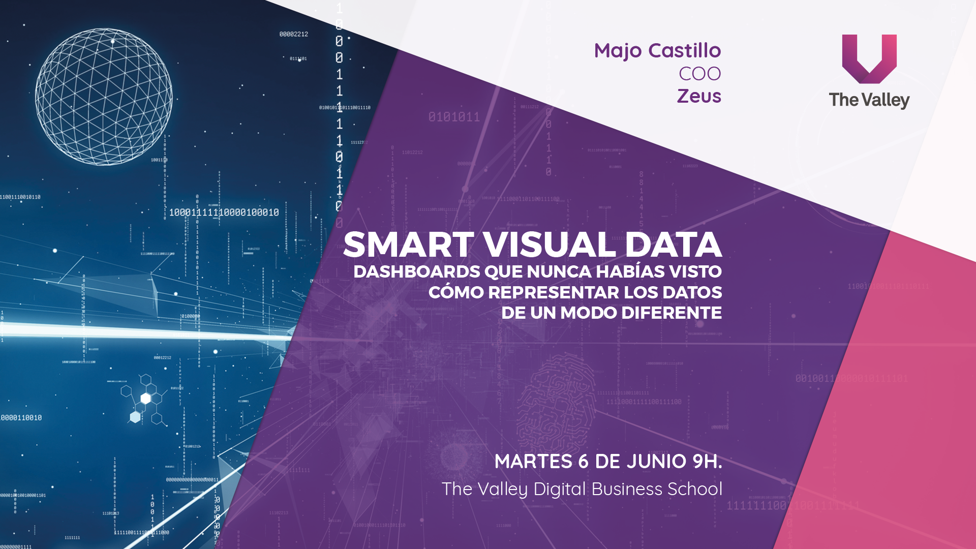 Evento Smart Visual Data
