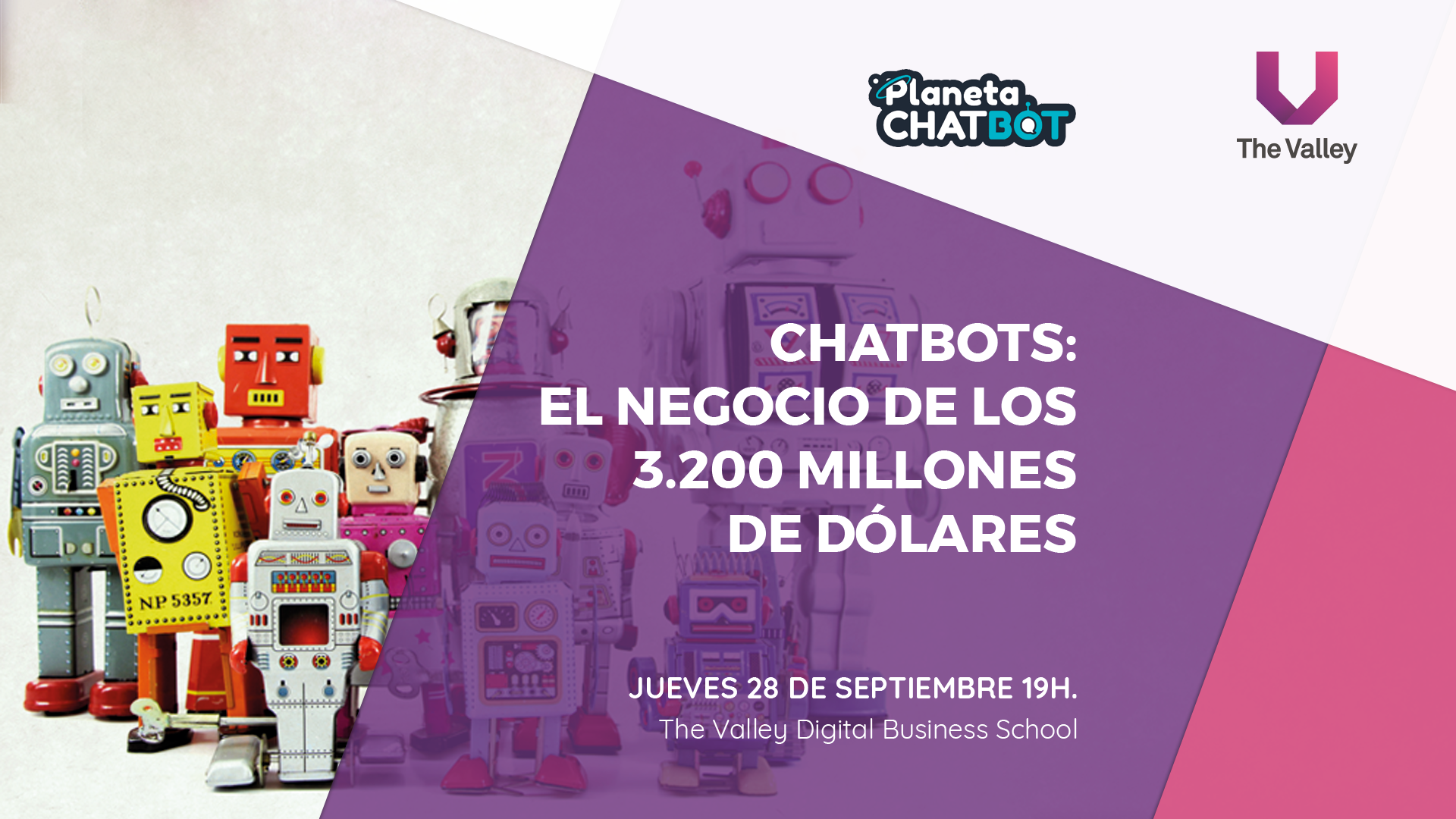 Evento Planeta Chatbot